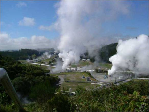 Figure 1 Geothermal power plant at Wairakei, New Zealand (Image ...