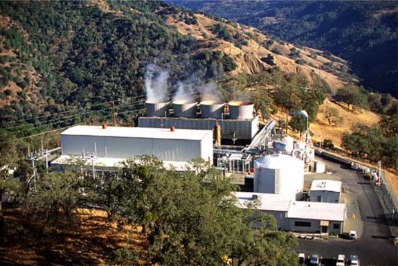 Figure 2 The Geysers geothermal power plant in California, USA (Image ...